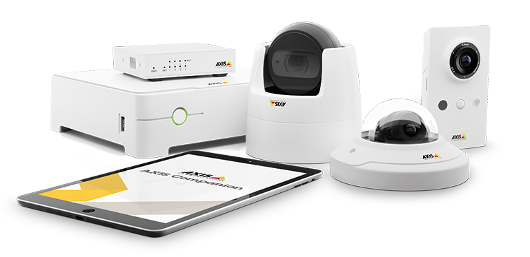 AXIS camera systems from Secure Tech Alarms