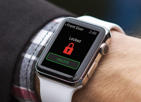 smart watch apps from Secure Tech Alarms