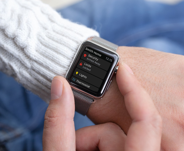 Secure Tech Alarms - control your alarm from your smart watch