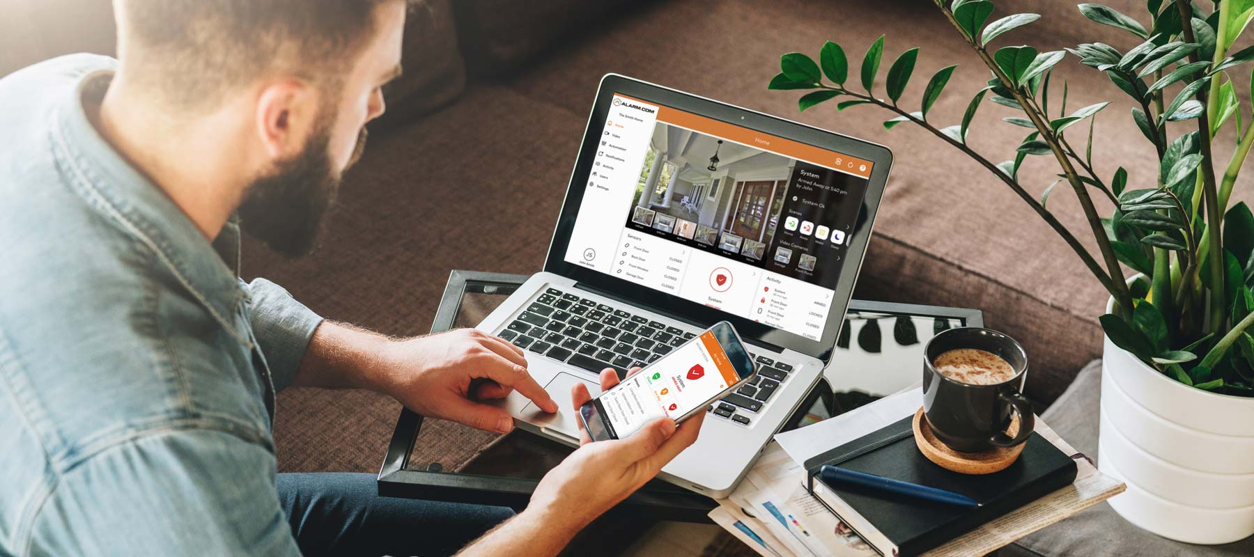 Gain peace-of-mind with interactive security solutions from Secure Tech Alarms