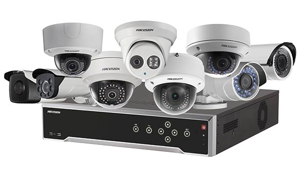 HIKVISION camera systems from Secure Tech Alarms