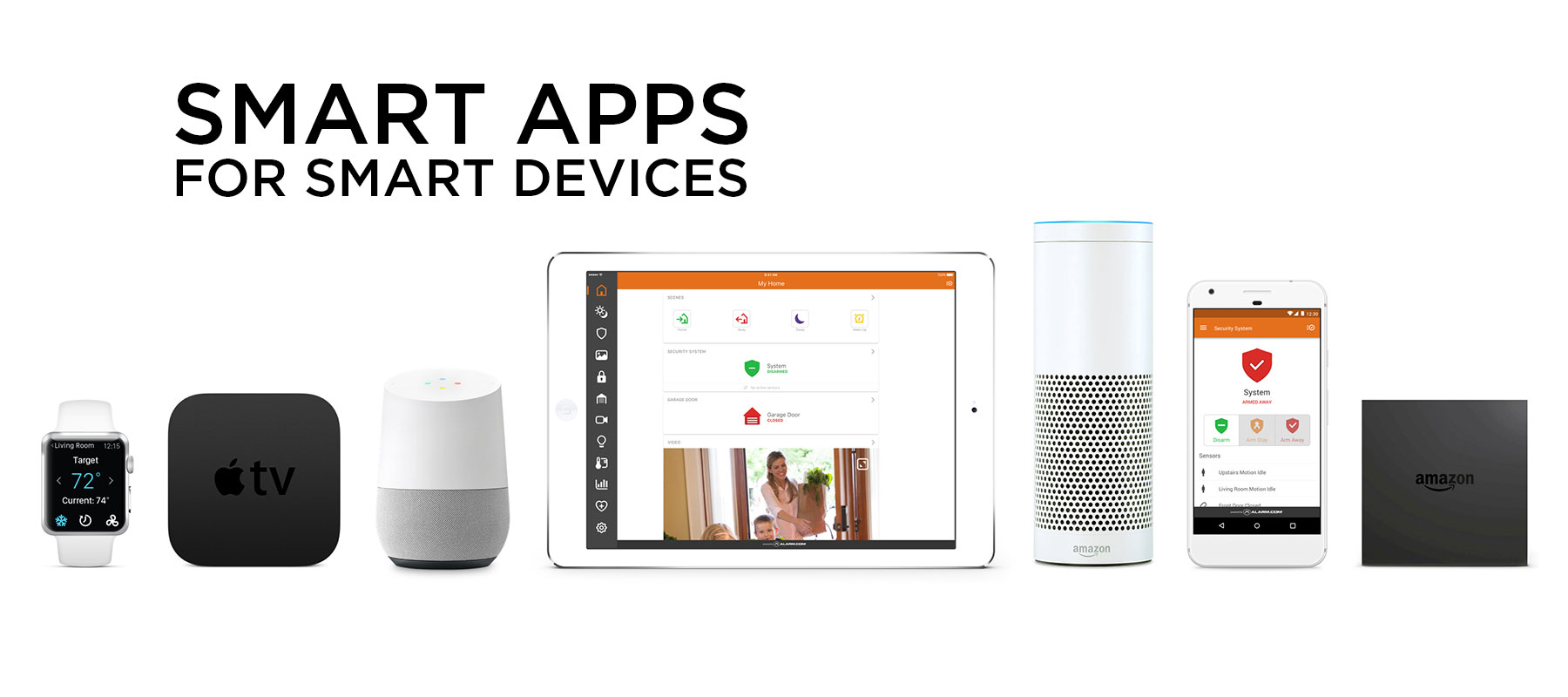 smart apps from Secure Tech Alarms