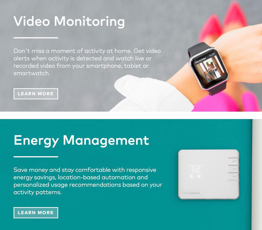 Video Monitoring from Secure Tech Alarms